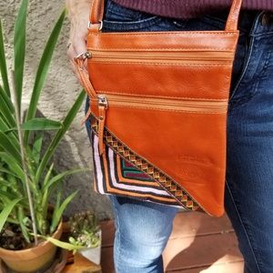 Guatemalan cross-body purse